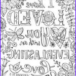 Bible Verse Coloring Books Beautiful Stock I Have Loved You With An Everlasting Love