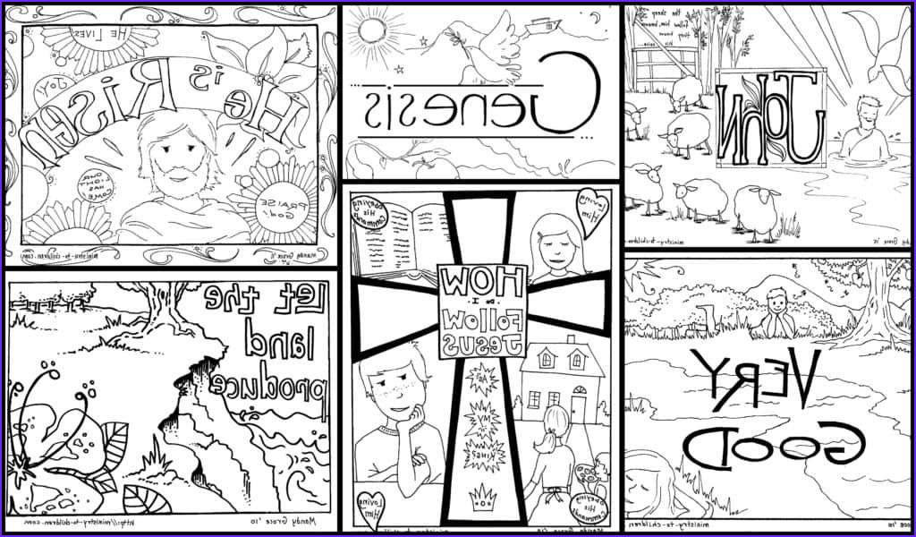 Bible Verse Coloring Books Best Of Images Bible Coloring Pages for Kids [free Printables]
