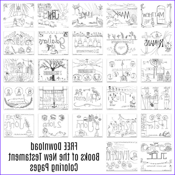 Bible Verse Coloring Books Elegant Photos New Testament Coloring Pages Free All 27 Books