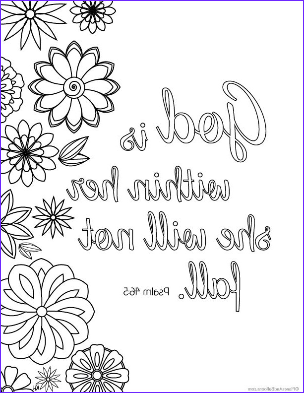 Bible Verse Coloring Books Inspirational Photography Bible Verse Coloring Pages that Give You Strength to Face