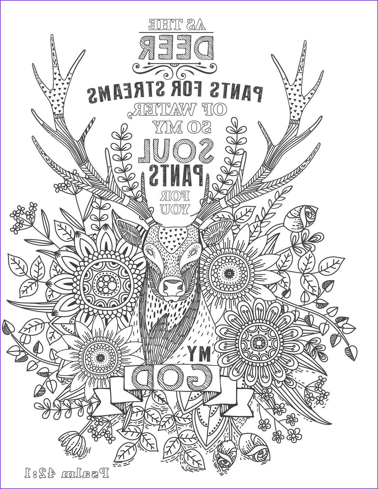 Bible Verse Coloring Pages Free Beautiful Photography Coloring Page From the Psalms In Color