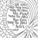 Bible Verse Coloring Pages Free Best Of Photos Flame Creative Children S Ministry Prayers To Colour In