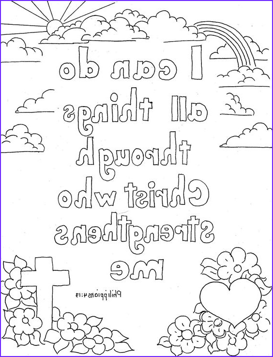 Bible Verse Coloring Pages Free Cool Collection Free Printable Christian Coloring Pages for Kids Best