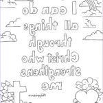 Bible Verse Coloring Pages Free Inspirational Gallery Coloring Pages For Kids By Mr Adron Philippians 4 13