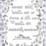 Bible Verse Coloring Sheets Luxury Collection Three Bible Verse Coloring Pages For Adults Printable