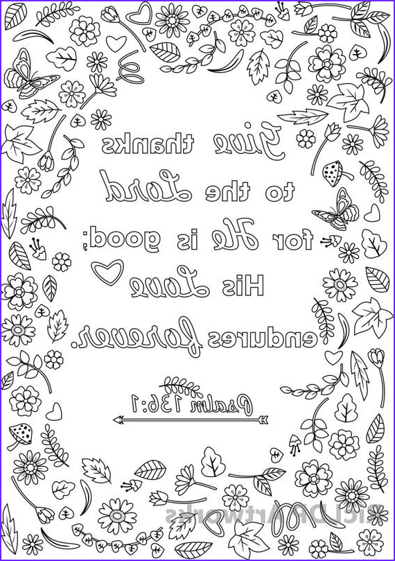 three bible verse coloring pages for