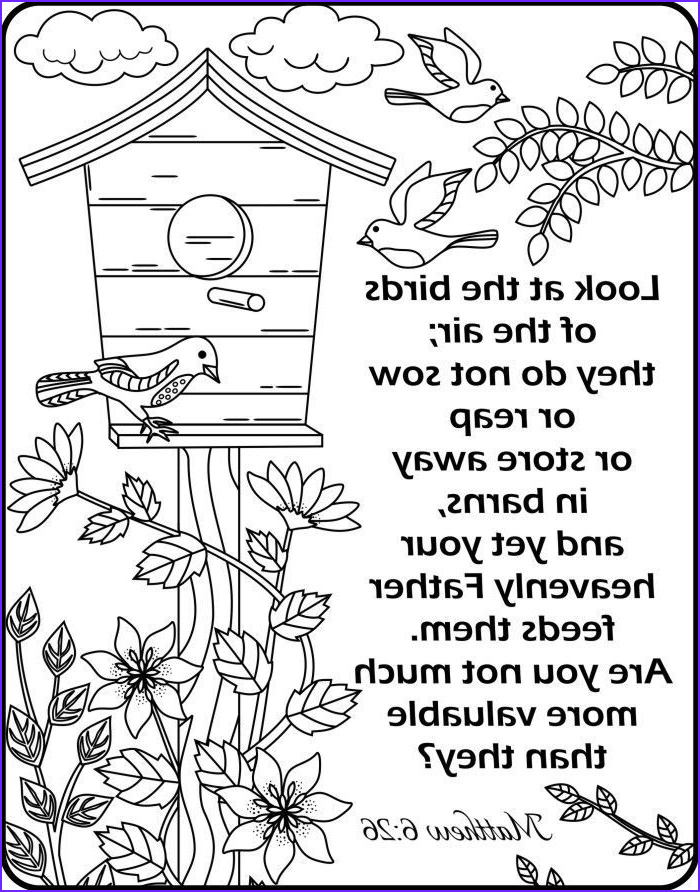 Bible Verses Coloring Book Awesome Photos Image Result for Verse Matthew 6 26 Colouring Page