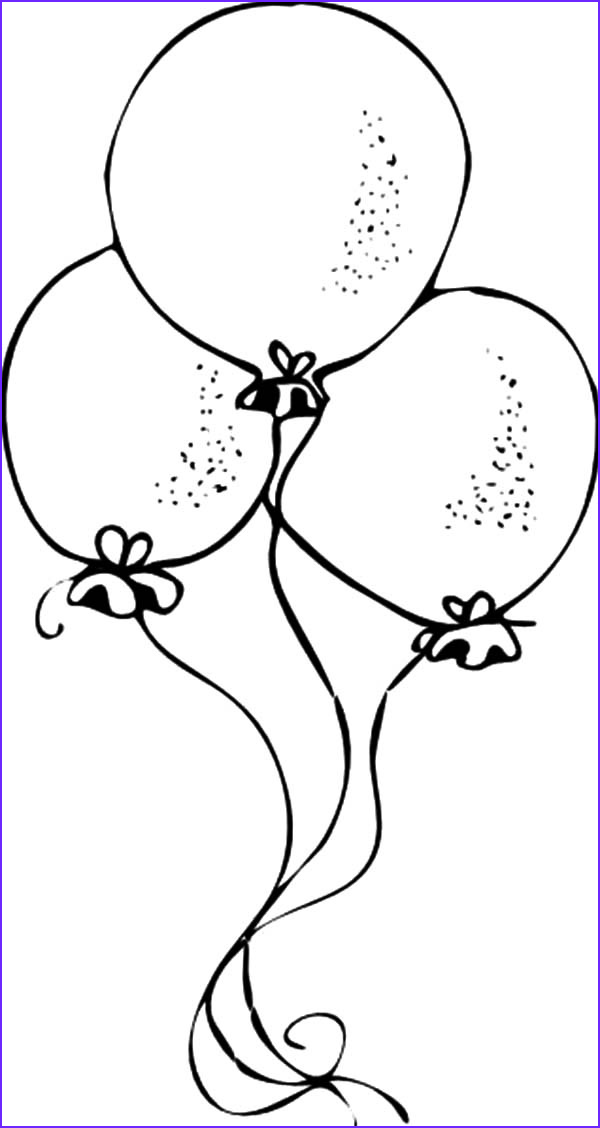 Birthday Balloons Coloring Pages Beautiful Photos Balloons and Pointed Hat with Birthday Cake Coloring Pages