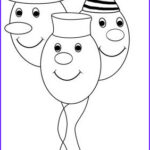 Birthday Balloons Coloring Pages Best Of Photos Birthday Coloring Pages