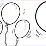 Birthday Balloons Coloring Pages Elegant Photos Happy Birthday Balloons Coloring Pages