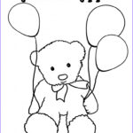 Birthday Balloons Coloring Pages Inspirational Collection Balloon Coloring Pages Best Coloring Pages For Kids