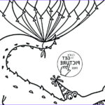 Birthday Balloons Coloring Pages Inspirational Images Happy Birthday Balloons Coloring Pages At Getcolorings