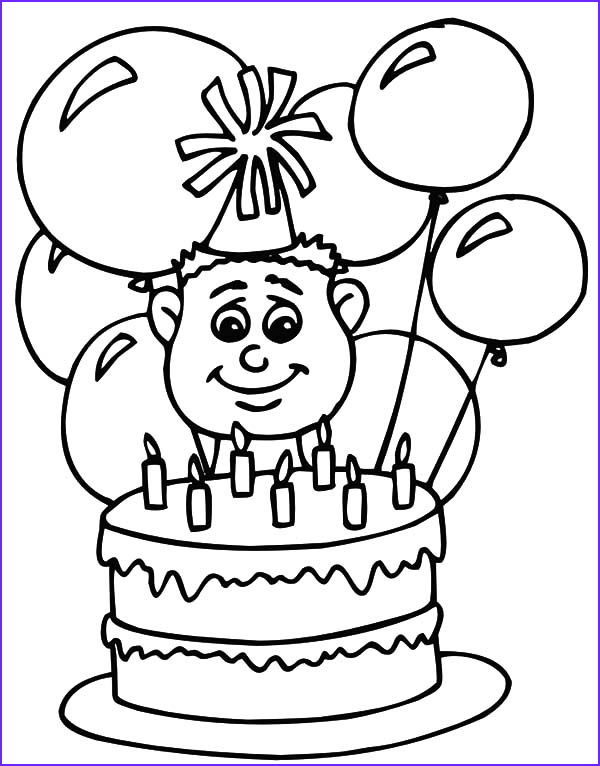 Birthday Balloons Coloring Pages Luxury Photos Find the Best Coloring Pages Resources Here Part 62