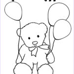 Birthday Balloons Coloring Pages New Stock Birthday Coloring Pages