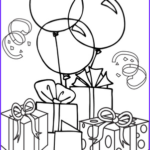 Birthday Balloons Coloring Pages Unique Collection Birthday Worksheet