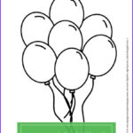Birthday Balloons Coloring Pages Unique Stock Free Birthday Balloons Coloring Page