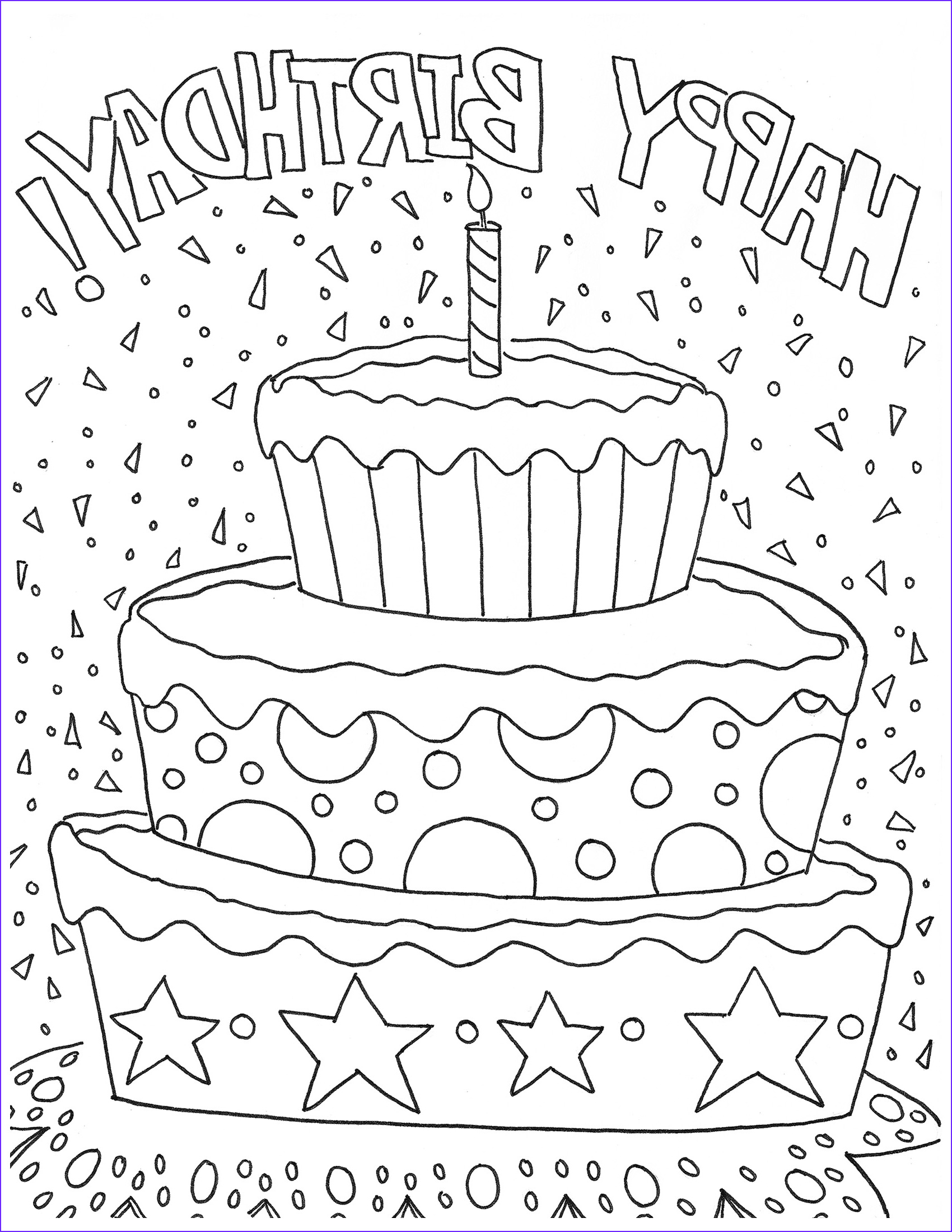 Birthday Coloring Page Beautiful Collection Free Happy Birthday Coloring Page and Hershey
