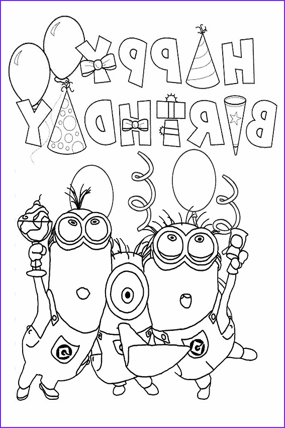 Birthday Coloring Page Best Of Photos Happy Birthday Coloring Pages to Color In On Your Birthday