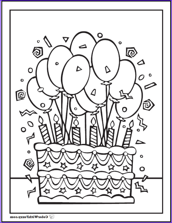 Birthday Coloring Page Unique Photography 28 Birthday Cake Coloring Pages Customizable Pdf Printables
