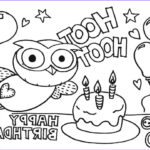 Birthday Coloring Pages Printable Awesome Images Happy Birthday Color Pages Kiddo Shelter