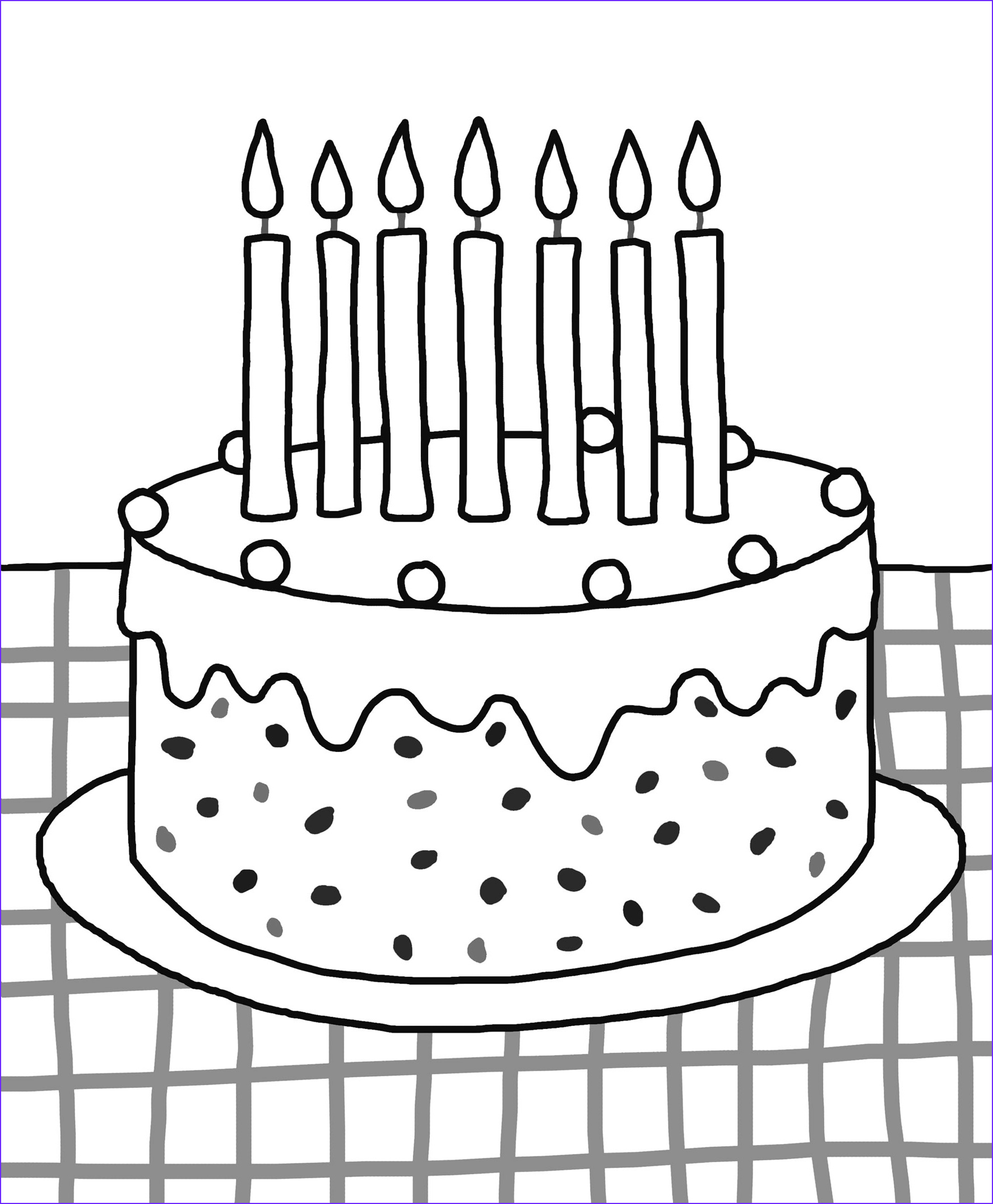 and print birthday colouring pages