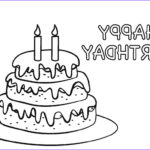 Birthday Coloring Pages Printable Beautiful Photos Free Printable Birthday Cake Coloring Pages For Kids