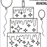Birthday Coloring Pages Printable Best Of Gallery Free Printable Happy Birthday Coloring Pages For Kids