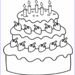 Birthday Coloring Pages Printable Best Of Photography Free Printable Birthday Cake Coloring Pages For Kids