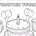 Birthday Coloring Pages Printable Cool Stock 25 Free Printable Happy Birthday Coloring Pages