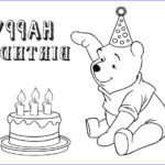 Birthday Coloring Pages Printable Elegant Collection Free Printable Birthday Cake Coloring Pages For Kids