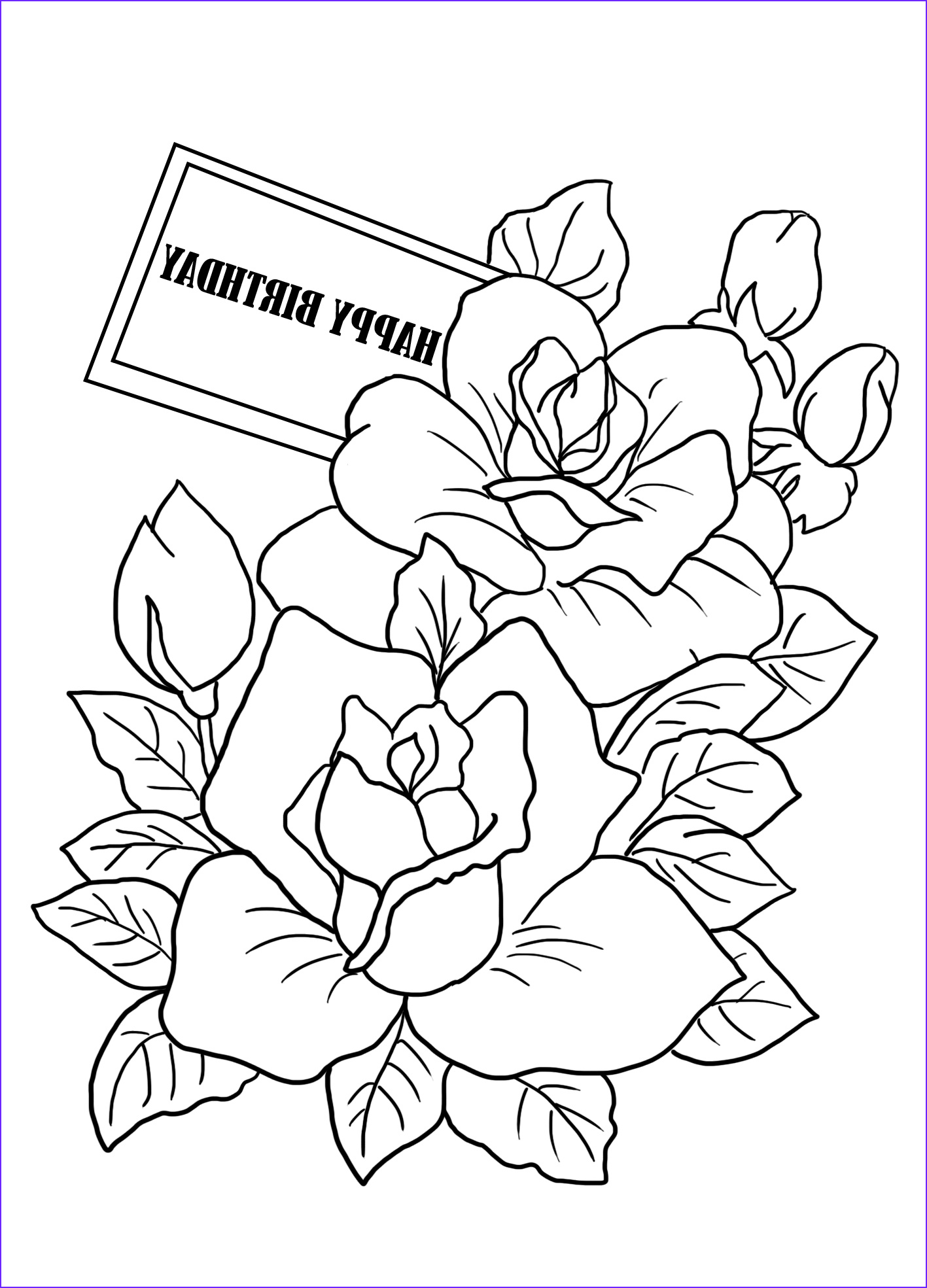 Birthday Coloring Pages Printable Inspirational Images Birthday Coloring Pages
