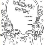 Birthday Coloring Pages Printable New Collection Free Printable Happy Birthday Coloring Pages For Kids