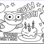 Birthday Coloring Pages Printable New Image 25 Free Printable Happy Birthday Coloring Pages