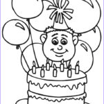 Birthday Coloring Pages Printable New Stock Free Printable Happy Birthday Coloring Pages For Kids