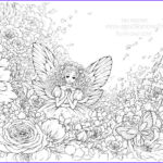 Black And White Coloring Pages For Adults Beautiful Collection Fantasy Coloring Pages For Adults