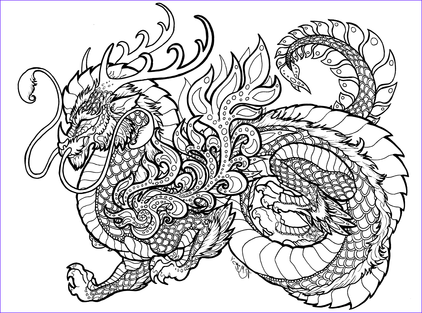 Black and White Coloring Pages for Adults Beautiful Collection Jade Synergy Lineart by Rachaelm5viantart On