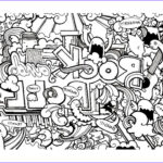 Black And White Coloring Pages For Adults Beautiful Image Free Coloring Page Coloring Doodle Art Doodling 8 Cool