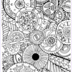 Black And White Coloring Pages For Adults Beautiful Image Zentangle Page