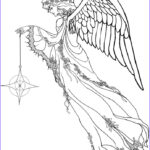Black And White Coloring Pages For Adults Luxury Collection Get This Angel Coloring Pages For Adults 24v8