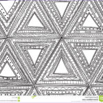 Black And White Coloring Pages For Adults Luxury Image Seamless Black And White Pattern Triangles Coloring