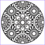 Black And White Coloring Pages For Adults Unique Photos Items Similar To Coloring Page Mandala Instant Pdf