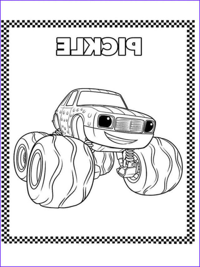 Blaze and the Monster Machine Coloring Pages Inspirational Images Blaze and the Monster Machines Coloring Pages