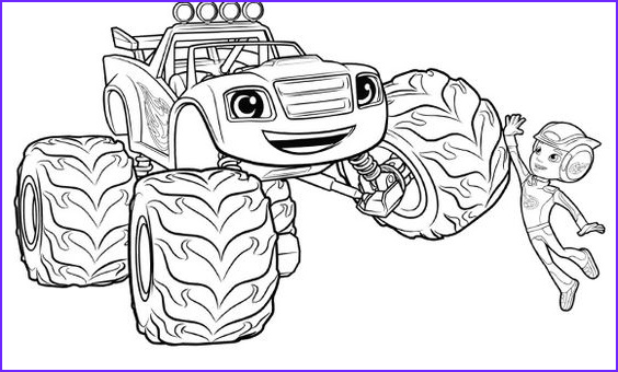 Blaze and the Monster Machines Coloring Pages New Images Blaze and the Monster Machines Coloring Pages Google