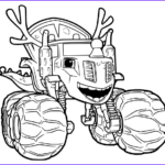 Blaze Monster Truck Coloring Pages Cool Photos Blaze and the Monster Machines Coloring Pages