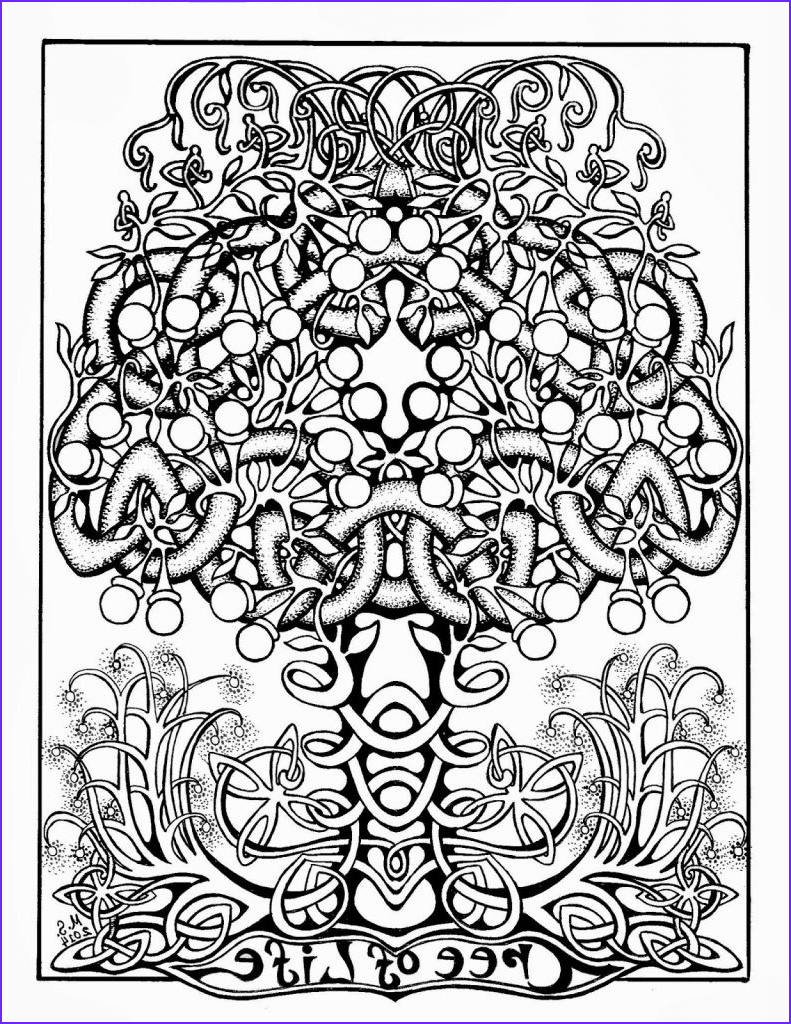 Book Of Life Coloring Pages Beautiful Gallery Tree Of Life Adult Coloring Page
