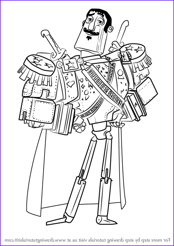 how to draw joaquin mondragon from the book of life