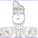 Book Of Life Coloring Pages Inspirational Stock How To Draw Manolo From The Book Life