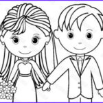 Bride And Groom Coloring Pages Awesome Images Bride Coloring Page