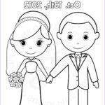 Bride And Groom Coloring Pages Inspirational Stock Personalized Printable Bride Groom Wedding By Sugarpiestudio
