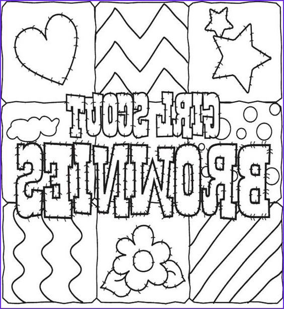 Brownie Girl Scout Coloring Pages Best Of Stock Girl Scout Cookies Coloring Pages for Kids
